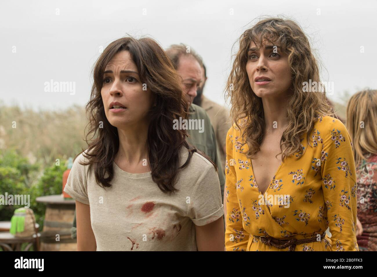 https www alamy com el embarcadero tv series 2019 2020 spain created by esther martnez lobato lex pina 2020 season 2 vernica snchez irene arcos image344548935 html