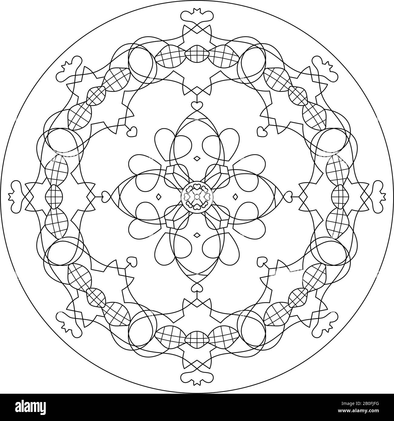 Anti-stress coloring for adults. Art therapy | Coloring pages ... | 1390x1300