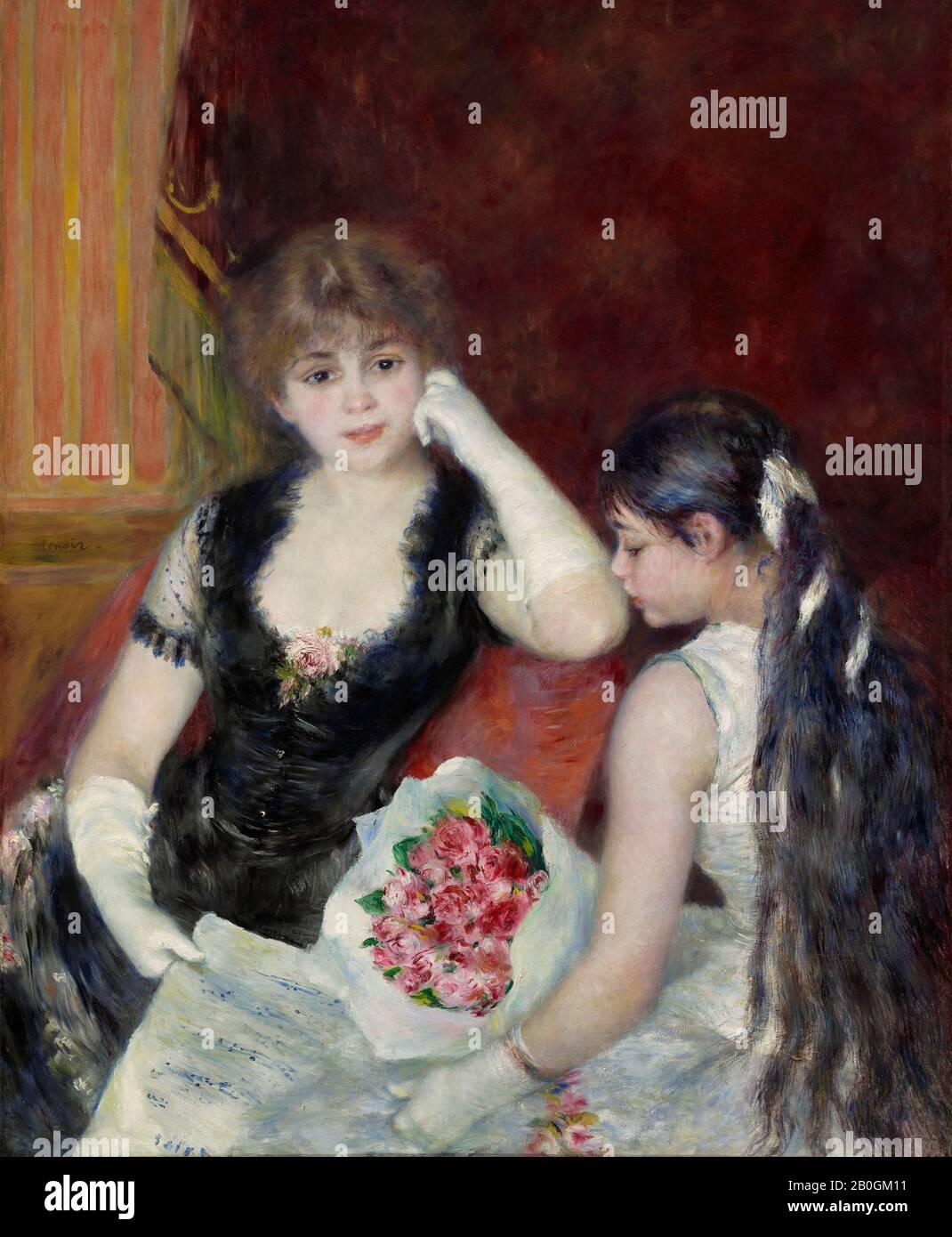 Pierre Auguste Renoir-en el bosque Vintage Fine Art Print