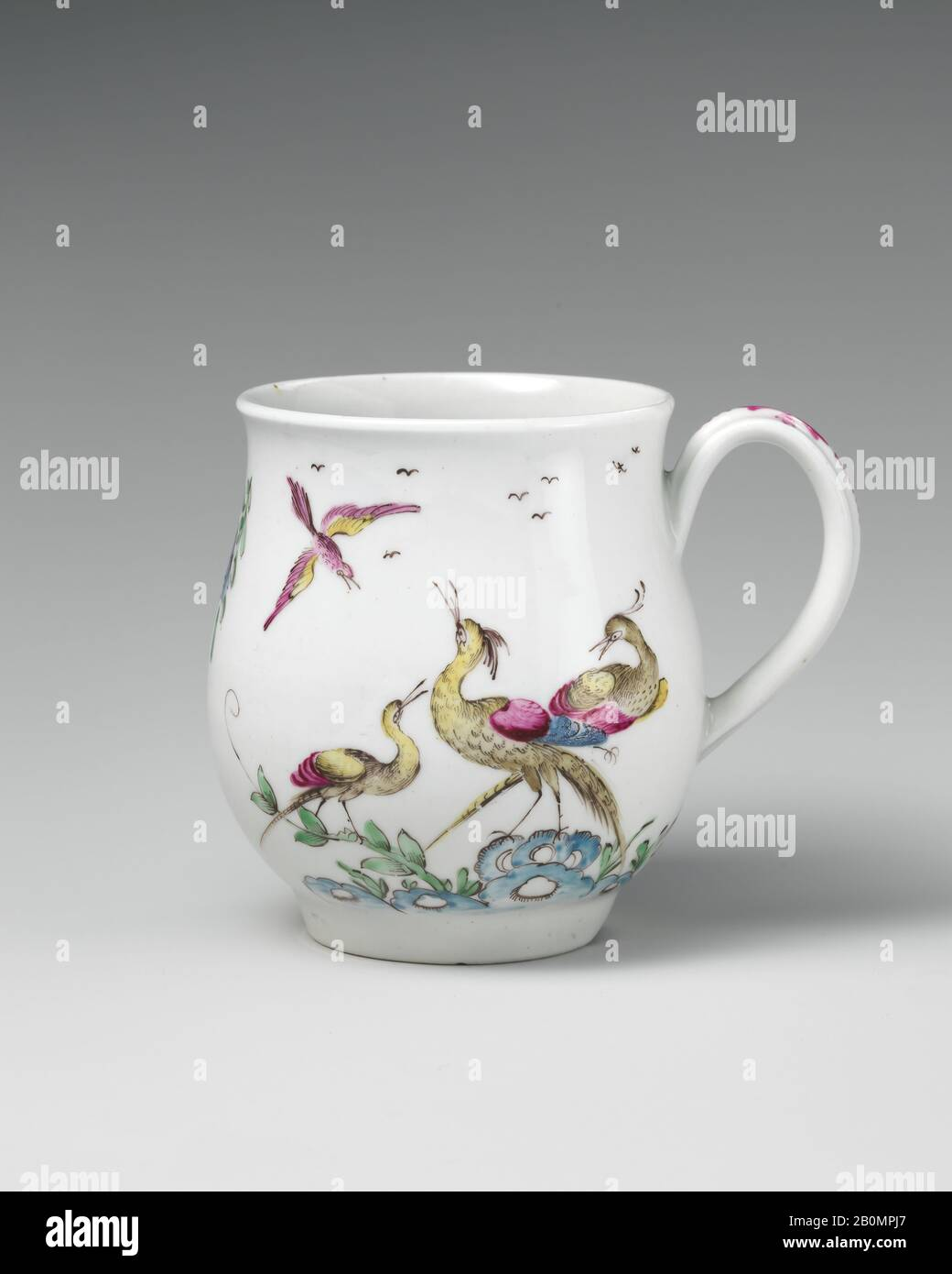 Tankard, British, 8th century, British, Soft-paste porcelain