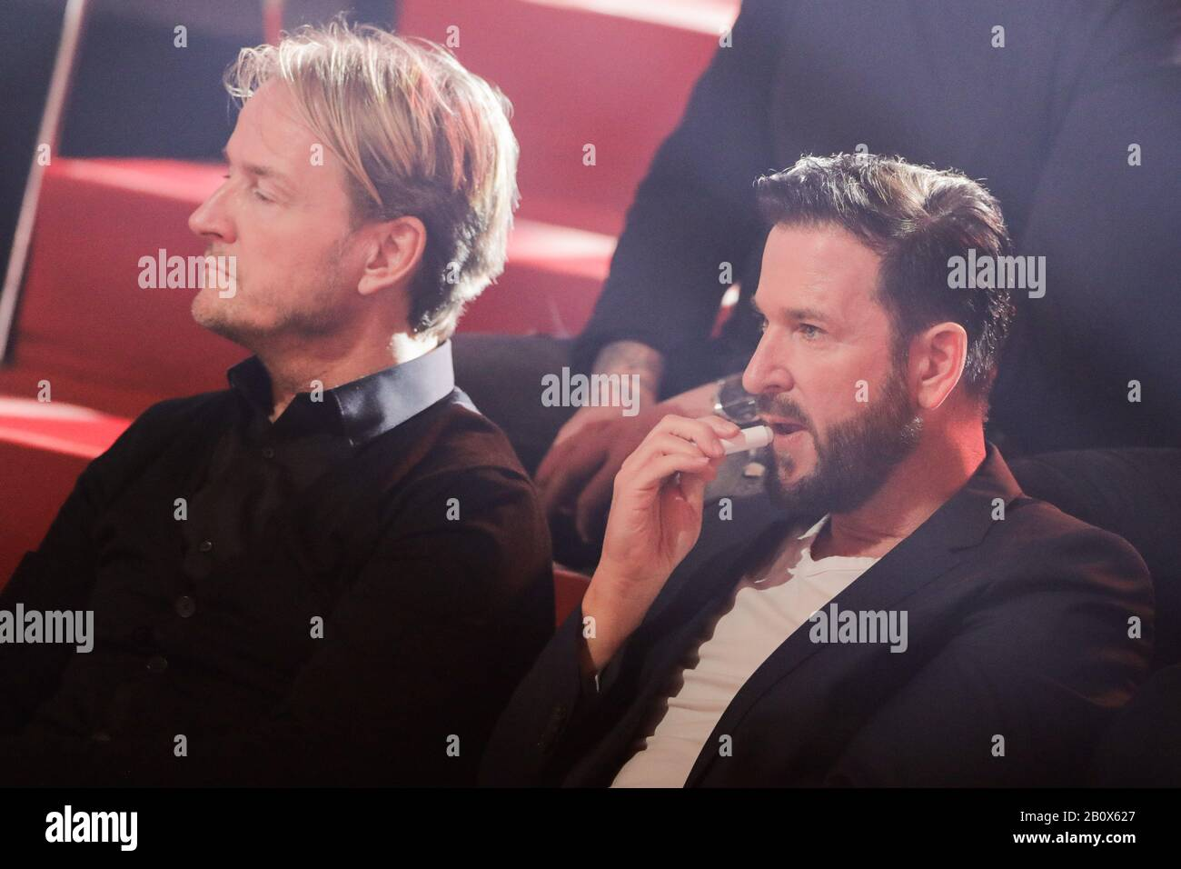 Cologne Germany 21st Feb 2020 Michael Wendler Singer Sits In The Audience In The Rtl Dance