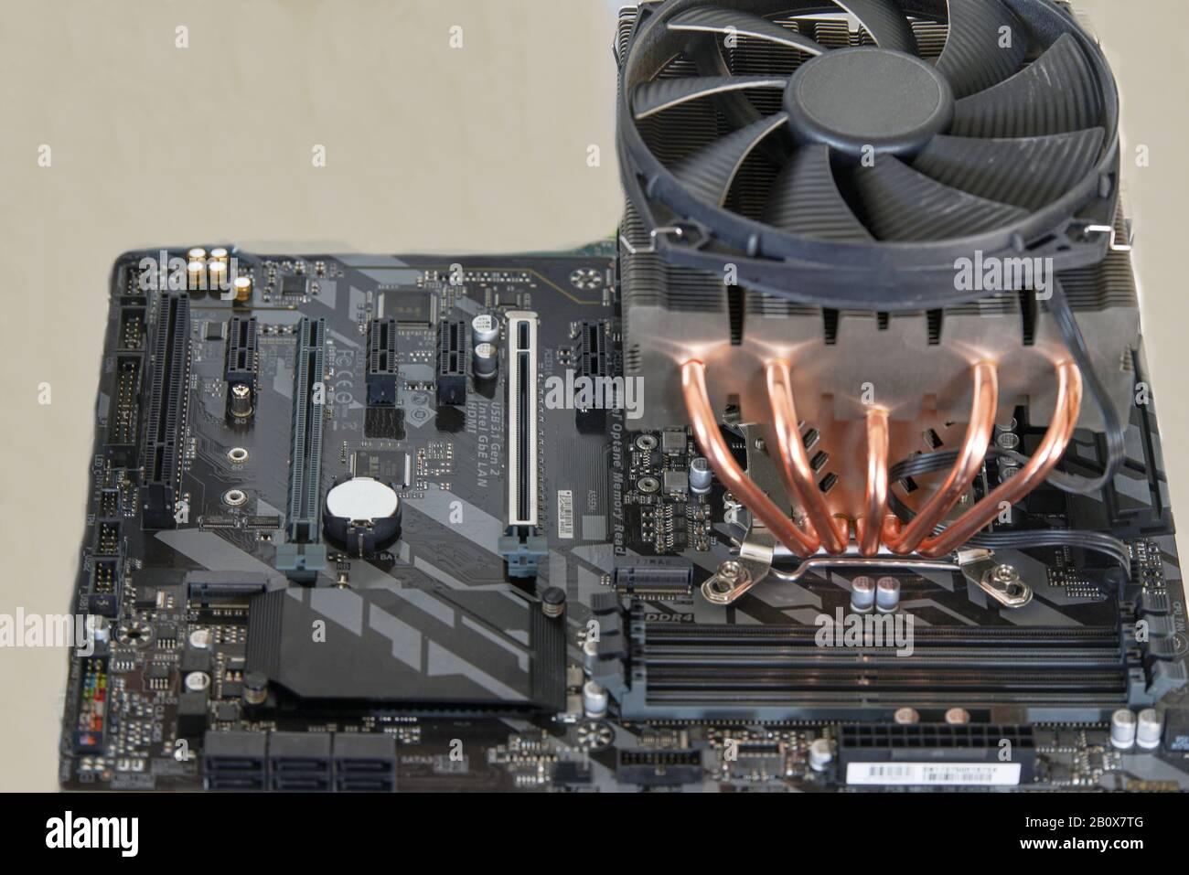 Motherboard für PC Stock Photo