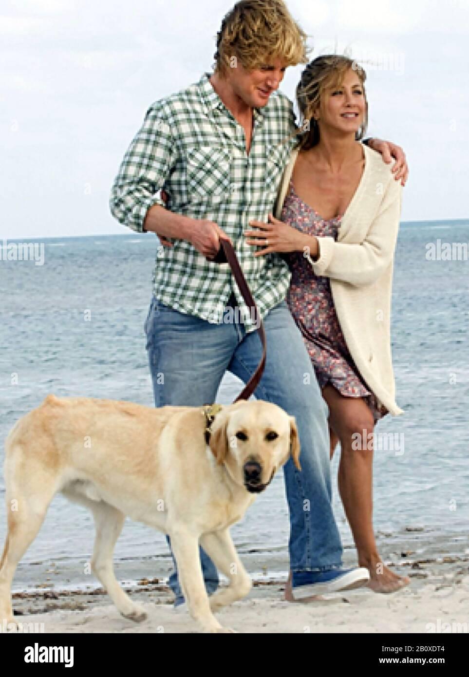 Marley Me 2008 20th Century Fox Film With Owen Wilson And Jennifer Aniston Stock Photo Alamy