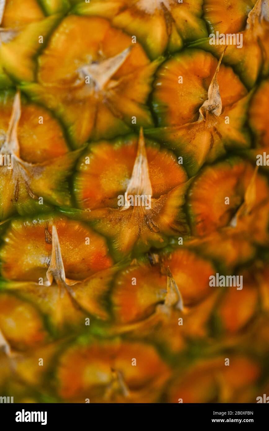 Ananas close-up Stock Photo