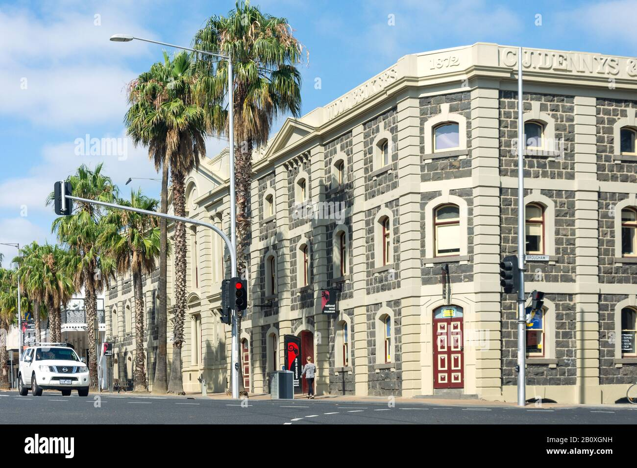 National Wool Museum, Moorabool Street, Geelong, Grant County, Victoria, Australia Stock Photo