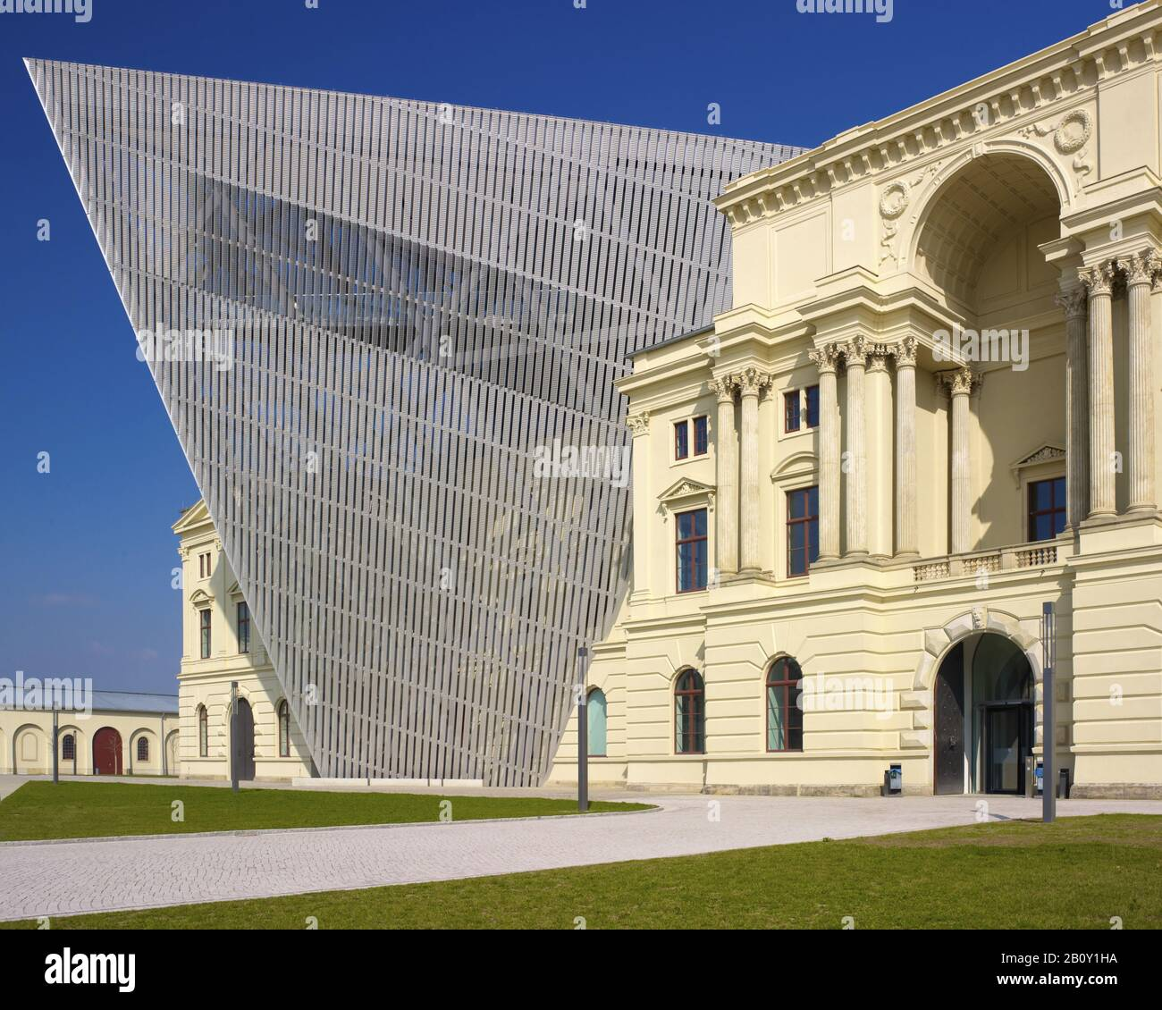Military History Museum in Dresden, Saxony, Germany, Stock Photo