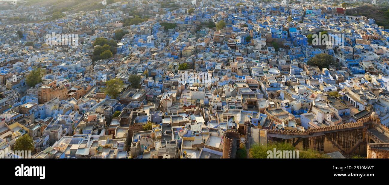 The blue city, Jodhpur, Rajasthan, India Stock Photo