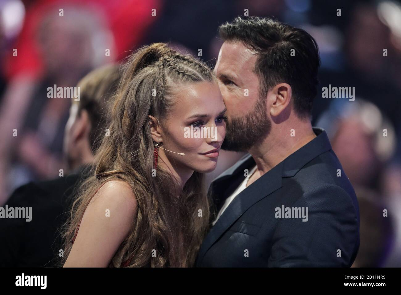 Cologne Germany 21st Feb 2020 Laura Muller Tv Personality And Michael Wendler Singer Are Not Getting