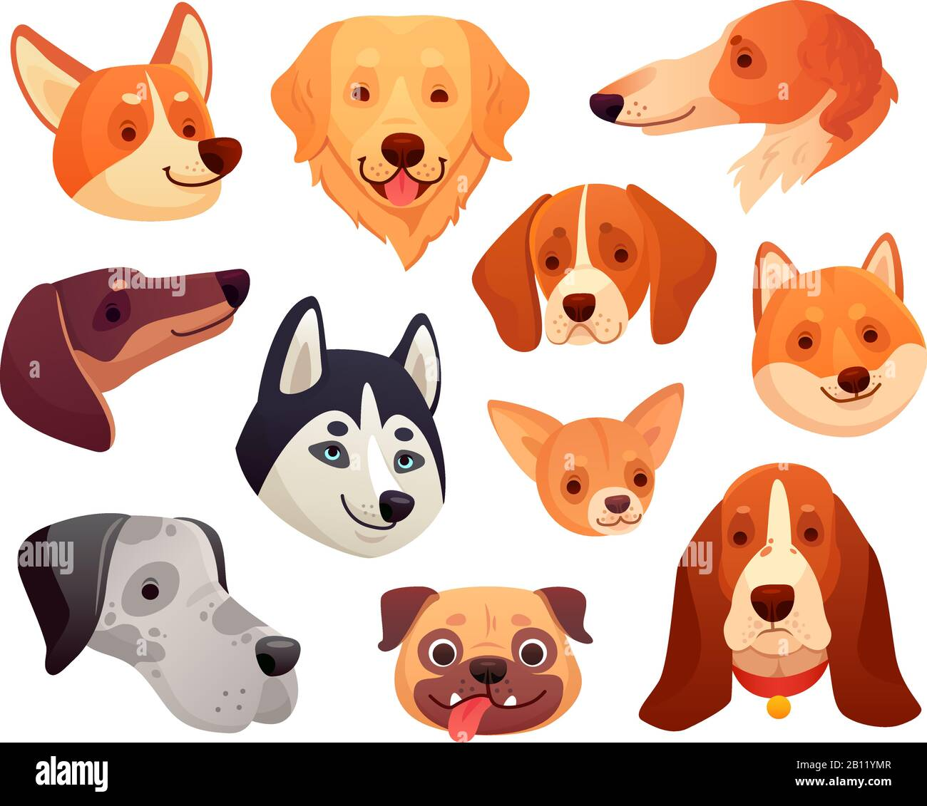 Cartoon Dog High Resolution Stock Photography And Images Alamy