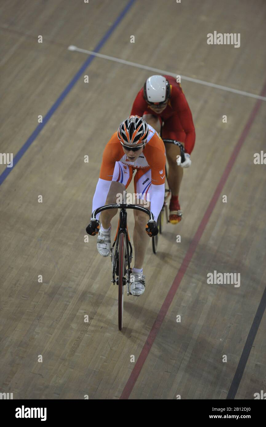Beijing, CHINA.   Cycling, . Laosham Velodrome, Tuesday - 19/08/2008, [Mandatory Credit: Peter SPURRIER, Intersport Images] Stock Photo