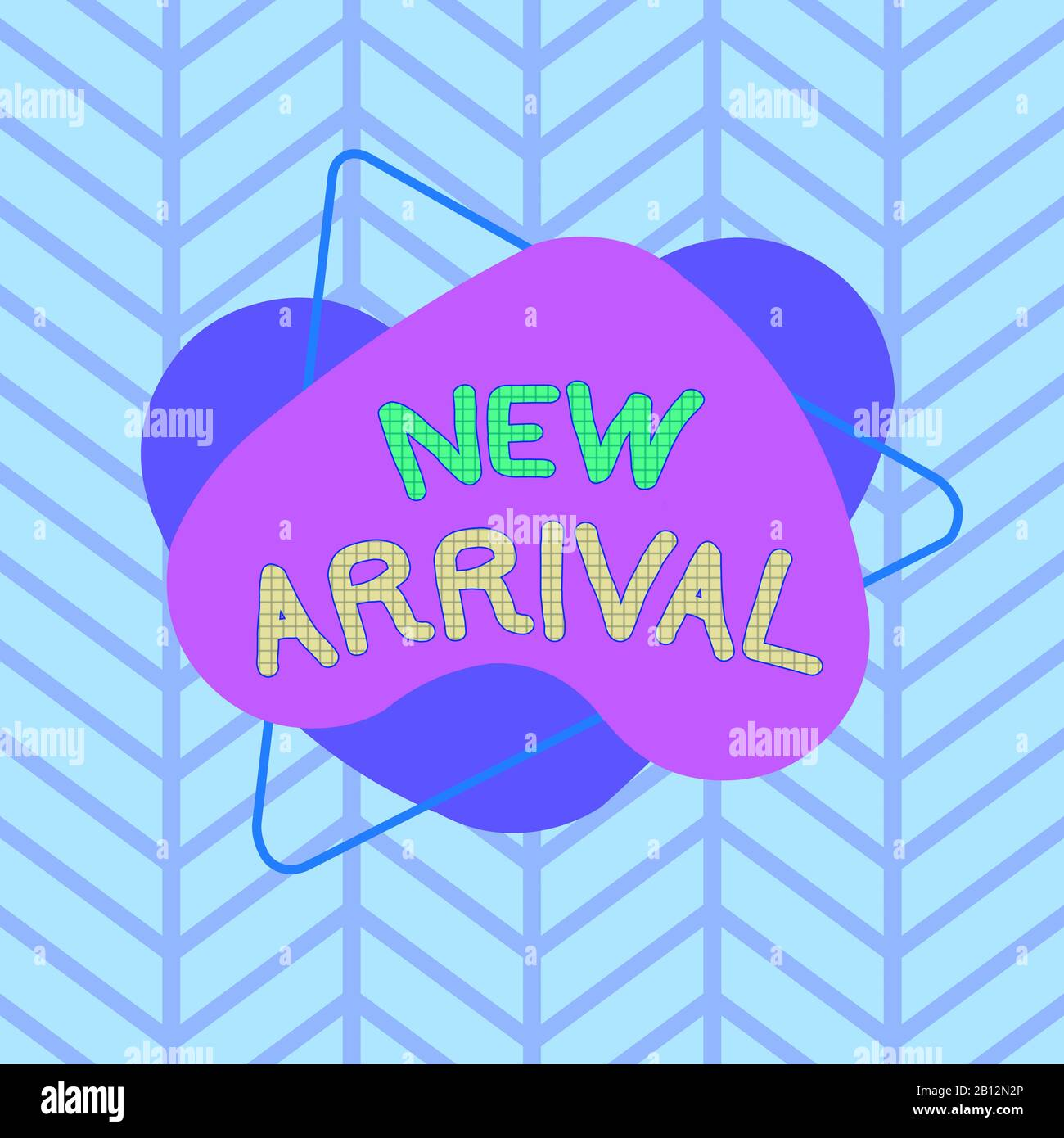 Text sign showing New Arrival. Business photo text the ...