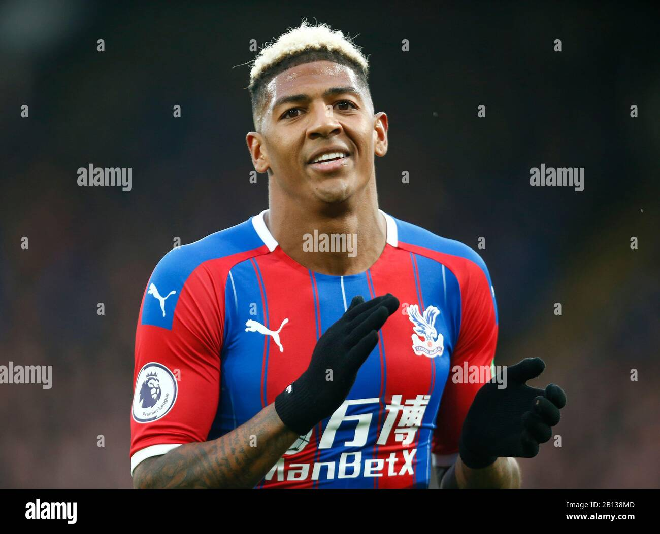 LONDON, UNITED KINGDOM. FEBRUARY 22 Crystal Palace's Patrick van Aanholt during English Premier League between Crystal Palace and Newcastle United at Selhurst Park Stadium, London, England on 22 February 2020 Credit: Action Foto Sport/Alamy Live News Stock Photo