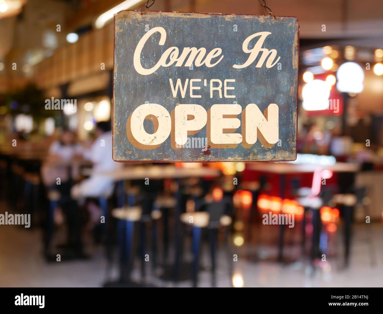 Coffee Sign Vintage Cafe High Resolution Stock Photography And Images Alamy