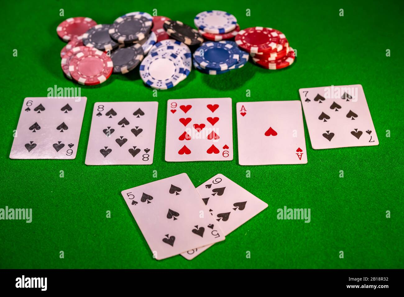 What is a flush in poker texas holdem games