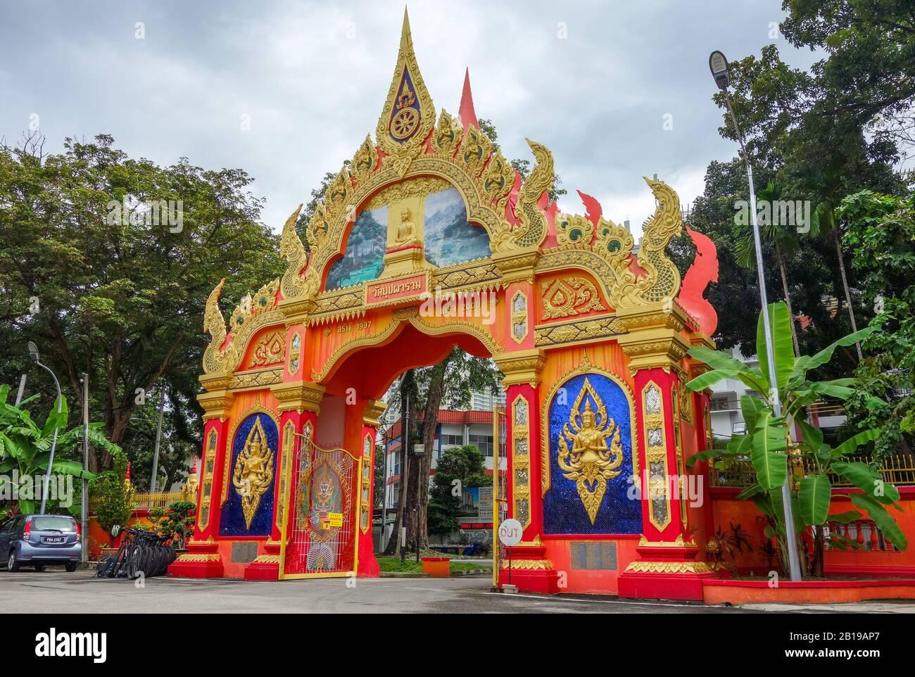 Penang, Malaysia. 02nd Dec, 2019. Buddhist Temple Wat Buppharam. Credit: Damian Gollnisch/dpa-Zentralbild/ZB/dpa/Alamy Live News Stock Photo