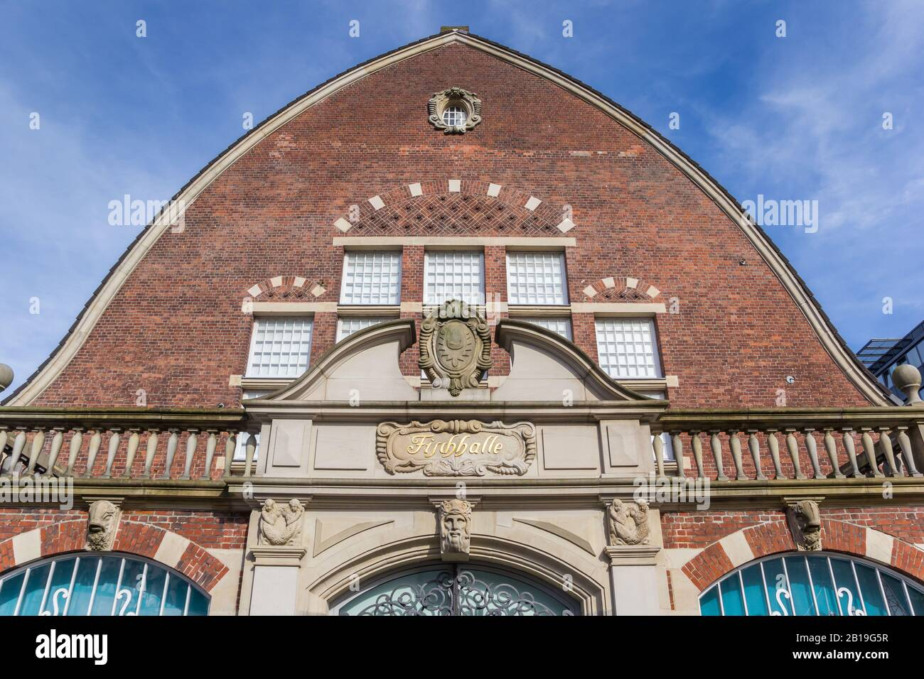 Facade of the maritime museum in Kiel, Germany Stock Photo