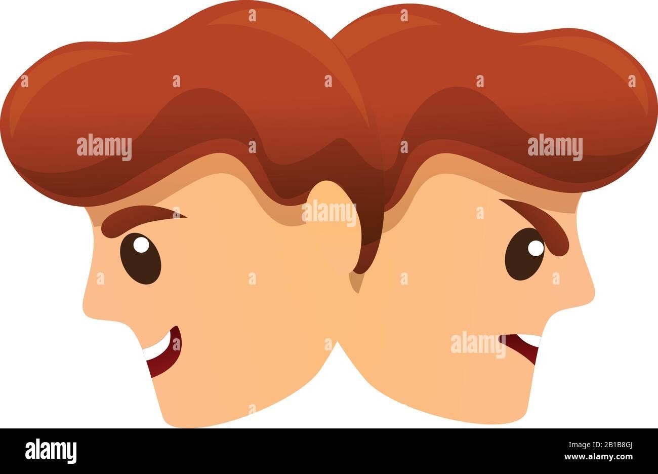 Bipolar Disorder Disease Icon Cartoon Of Bipolar Disorder Disease Vector Icon For Web Design Isolated On White Background Stock Vector Image Art Alamy