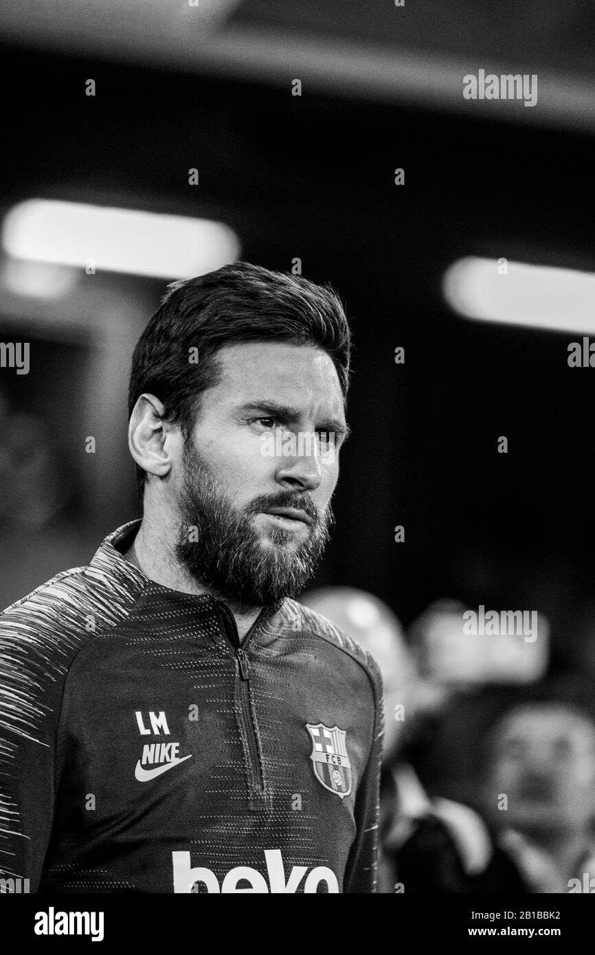Lionel Messi Black And White Stock Photos Images Alamy