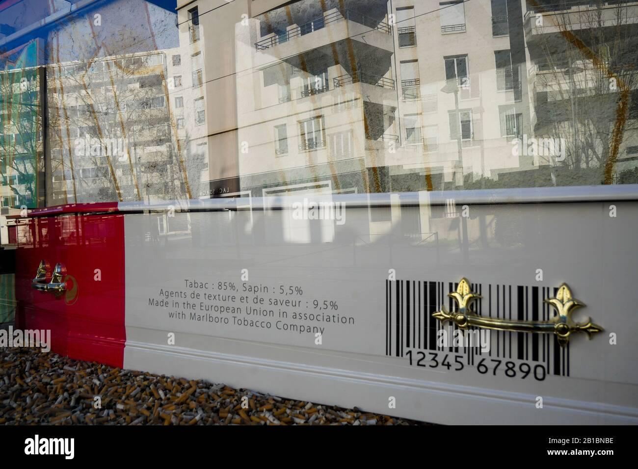 World Day Without Tobacco Lyon France Stock Photo Alamy