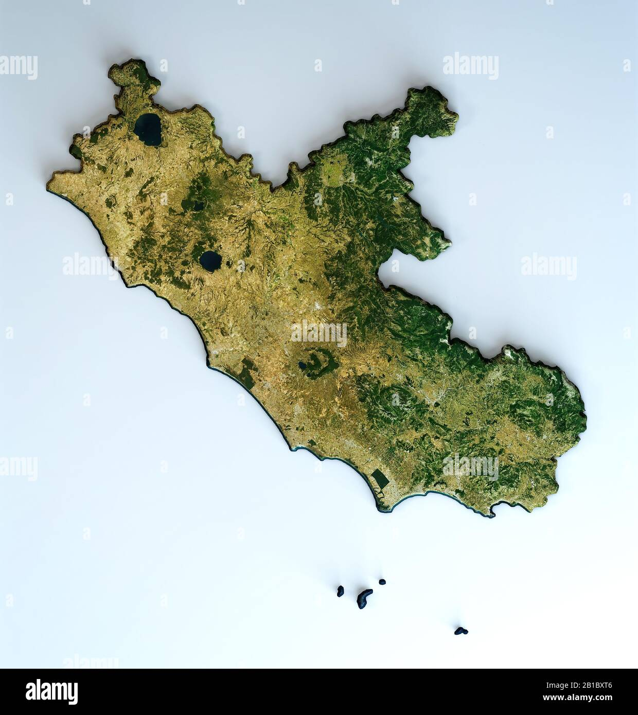 Picture of: 3d Rome Map Satellite View High Resolution Stock Photography And Images Alamy