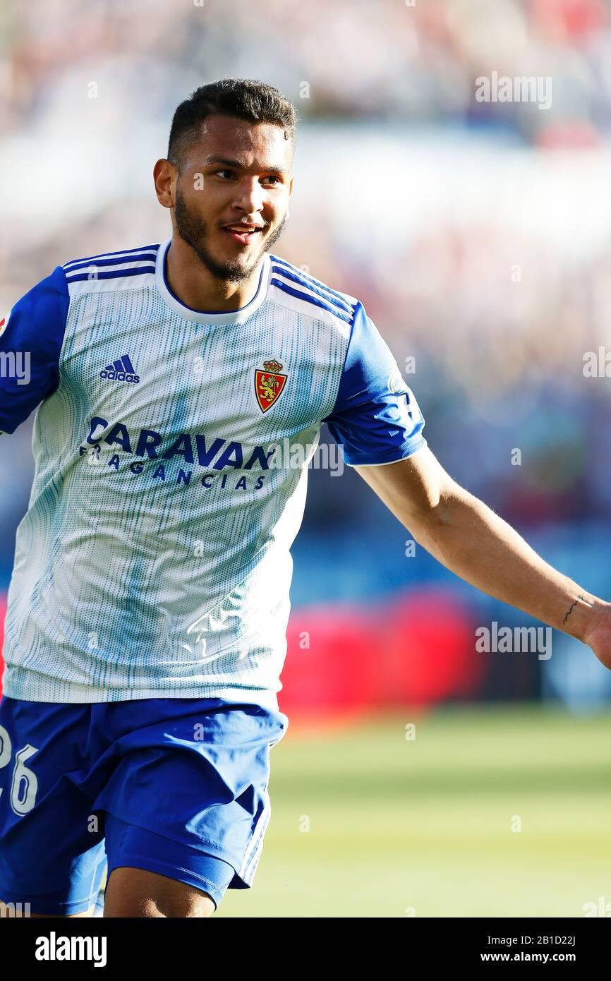 Zaragoza, Spain. Credit: D. 23rd Feb, 2020. Luis Suarez (Zaragoza)  Football/Soccer : Spanish
