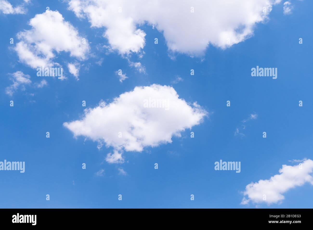 The Blue Sky With Moving White Clouds The Most Of Clouds Are Beautiful Color And Shade Suitable For Use As Background Image Stock Photo Alamy