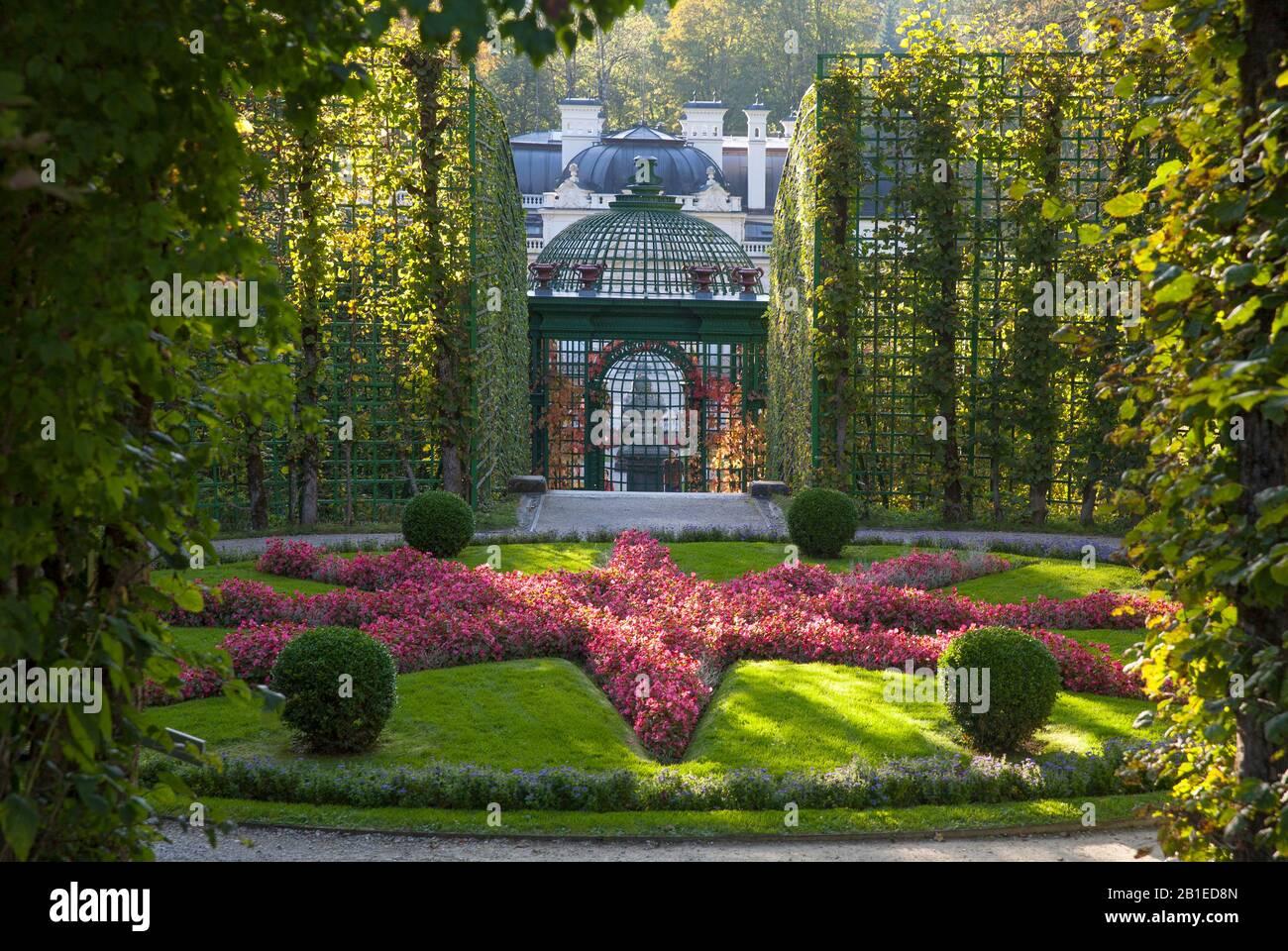 Linderhof Palace, Bavaria, Germany. Stock Photo