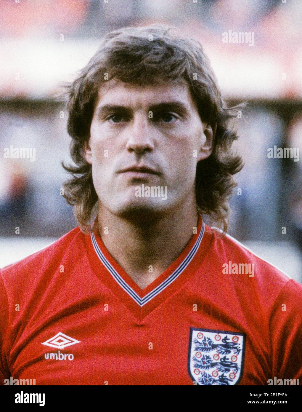 Glenn Hoddle British Professional Footballer In National Team Stock Photo Alamy