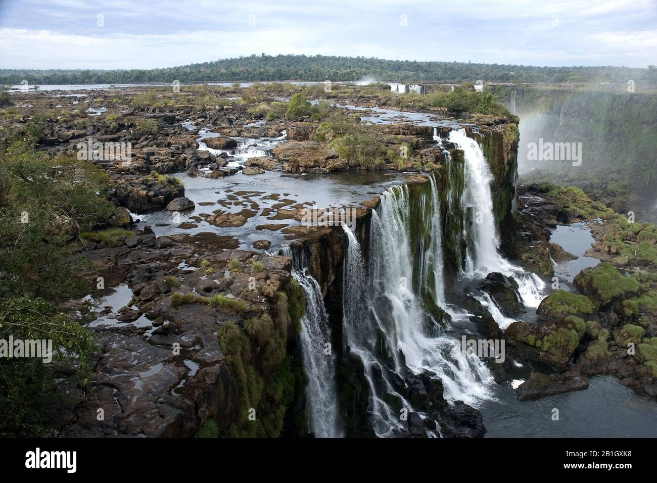 Iguazu Falls, Argentina, Iguazu National Park Stock Photo