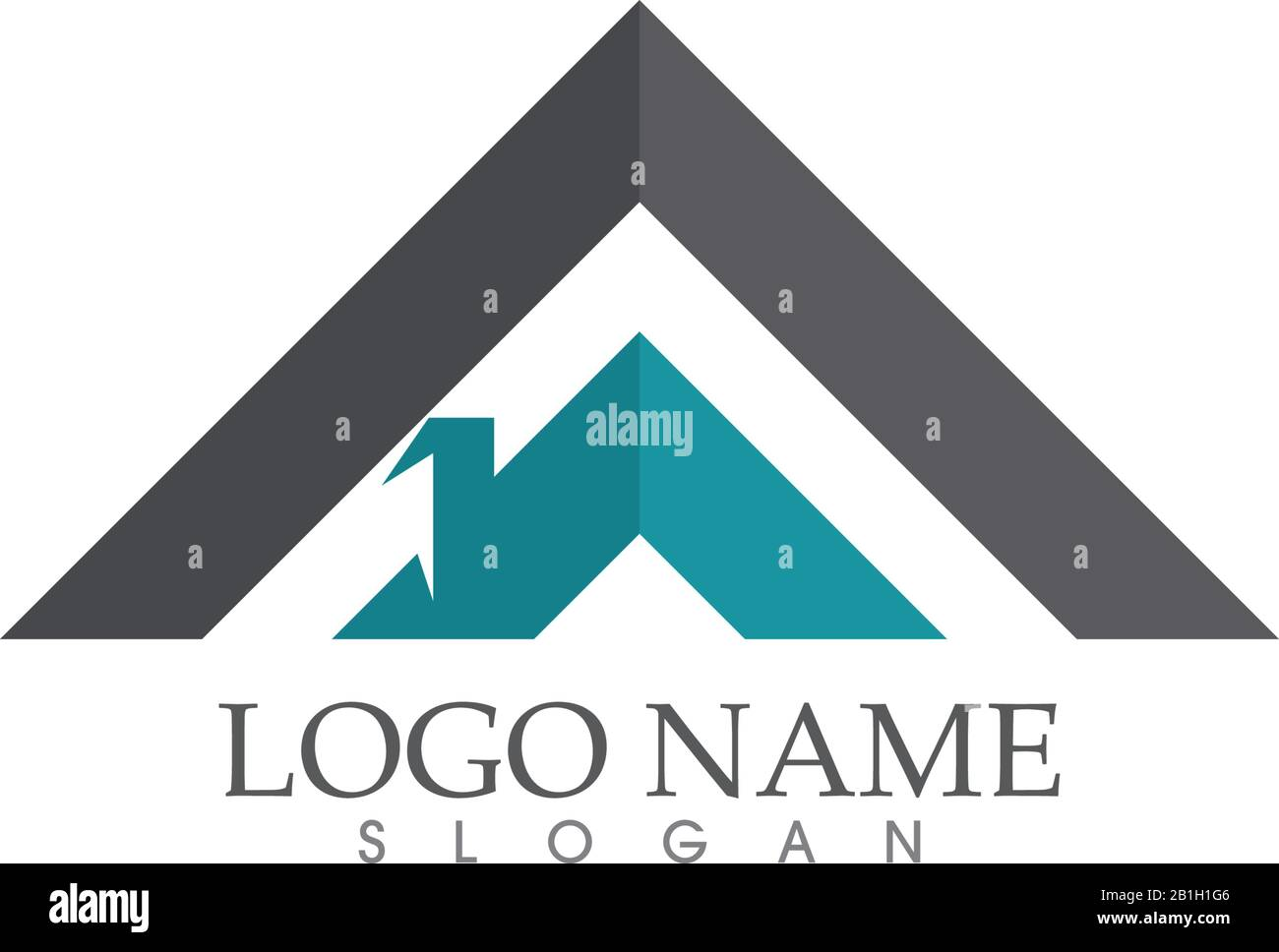 Home And House Property And Construction Logo Design Stock Vector Image Art Alamy