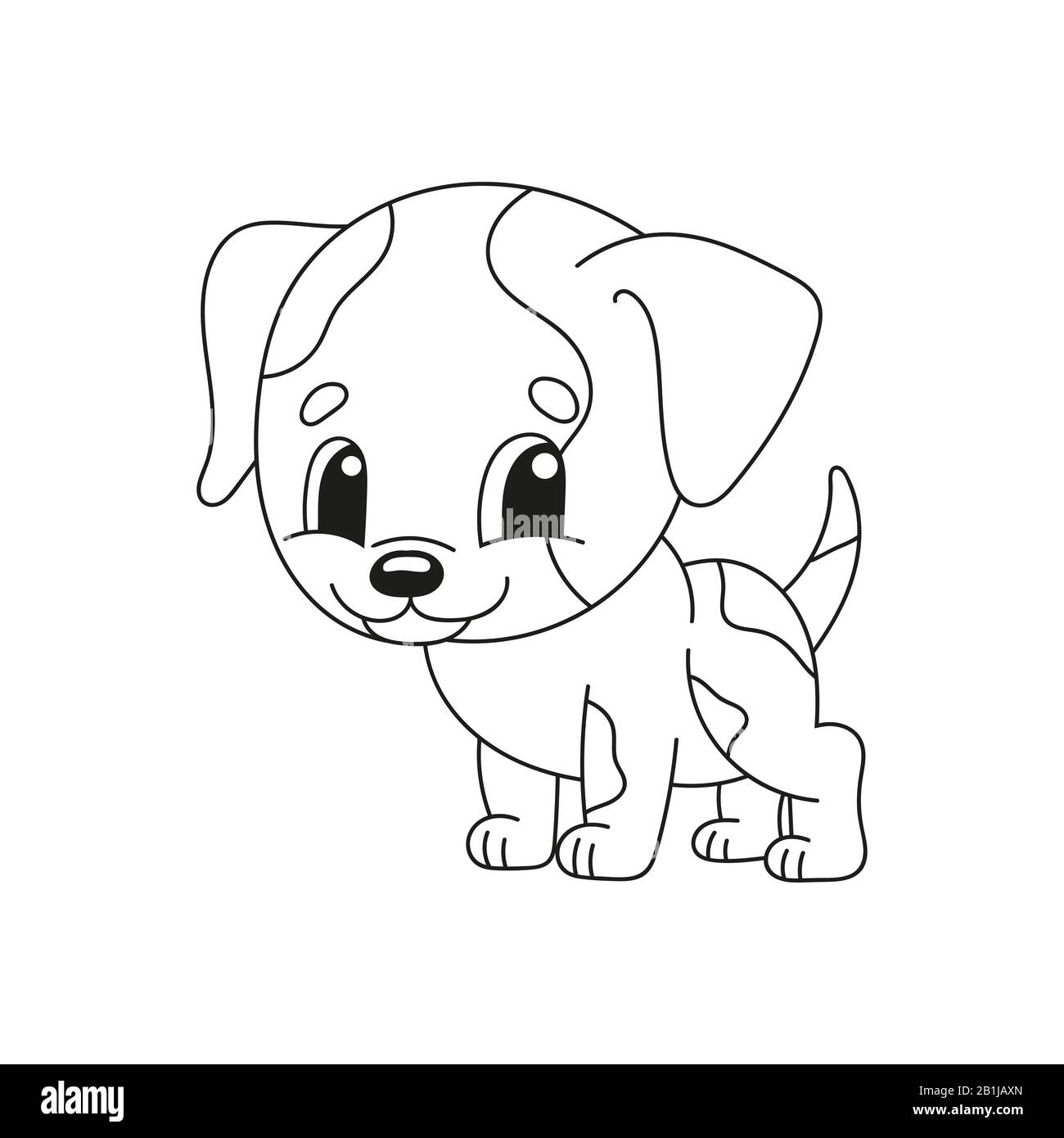 Cute Baby Dog Coloring Pages High Resolution Stock Photography And Images Alamy