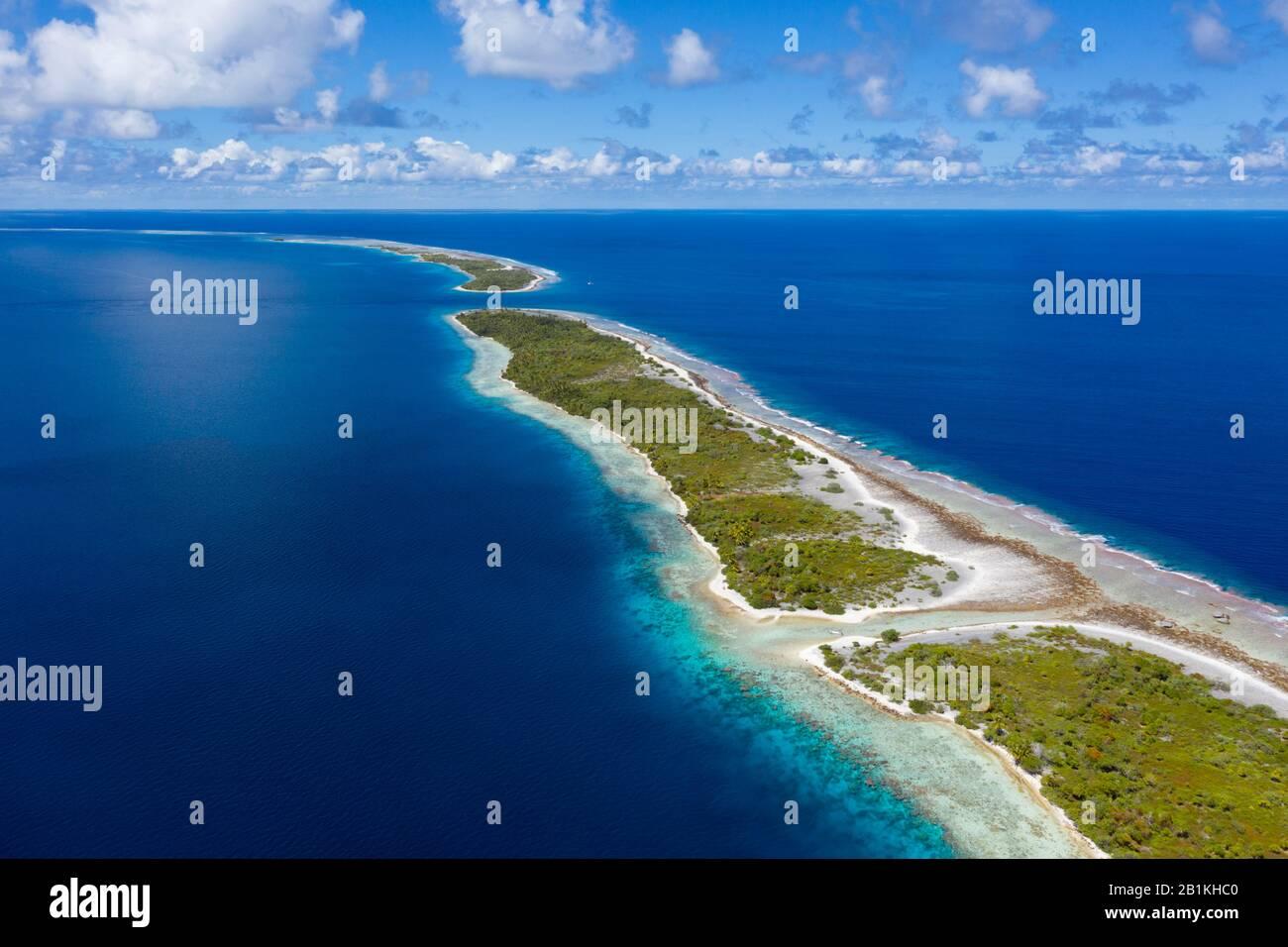 Impressions of Kauehi Atoll, Tuamotu Archipel, French Polynesia Stock Photo