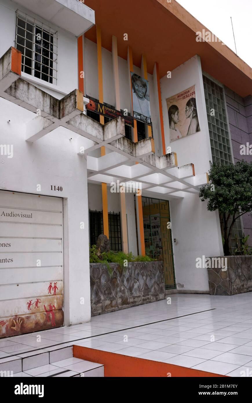 Museo de la Palabra y la Imagen or Museum of Word and Image in San Salvador, El Salvador Stock Photo