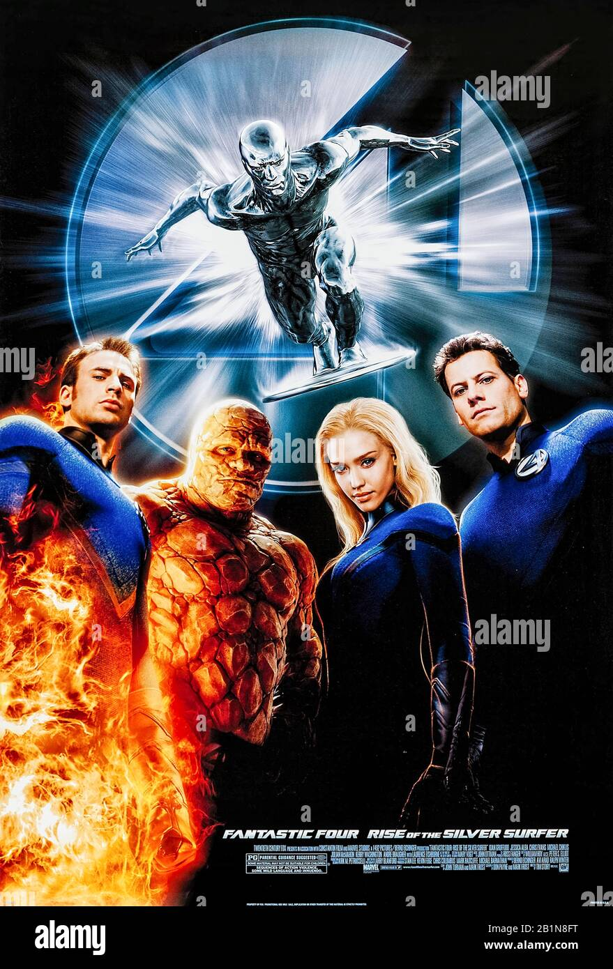 Watch Fantastic 4: Rise Of The Silver Surfer 2007 Movie Online