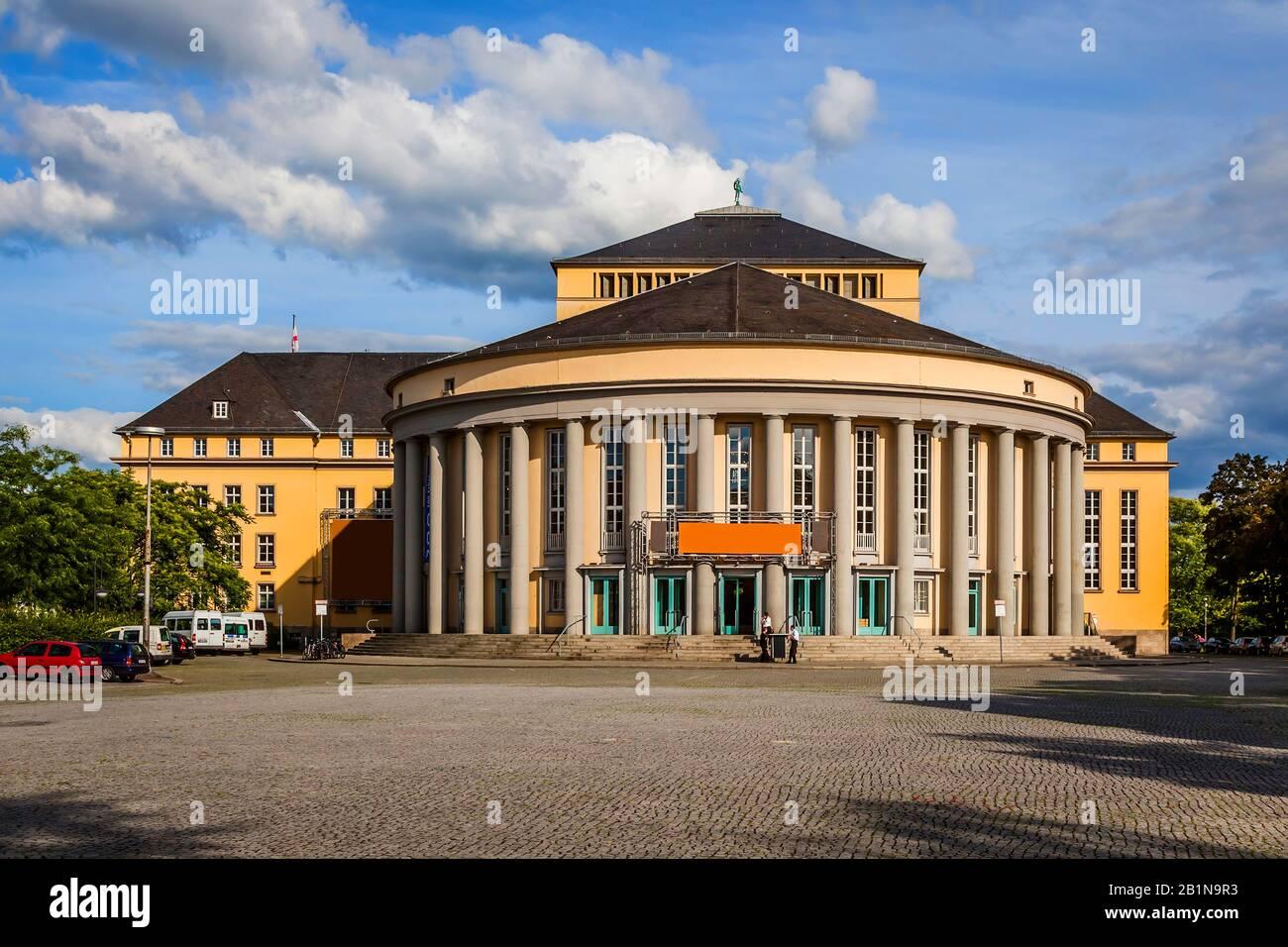 theatre in Saarbruecken, Germany, Saarland, Saarbruecken Stock Photo