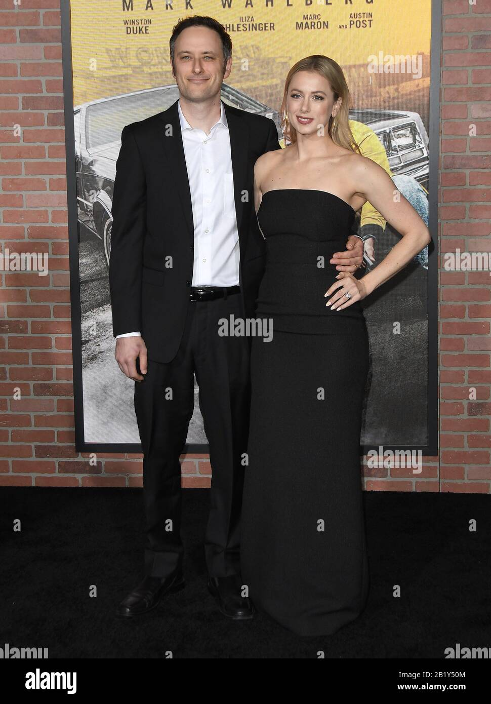 Los Angeles Usa 27th Feb 2020 Noah Galuten And Iliza Shlesinger At The Netflix S Spenser Confidential Premiere Held At The Regency Village Theatre In Westwood Ca On Thursday February 27 2020 Photo