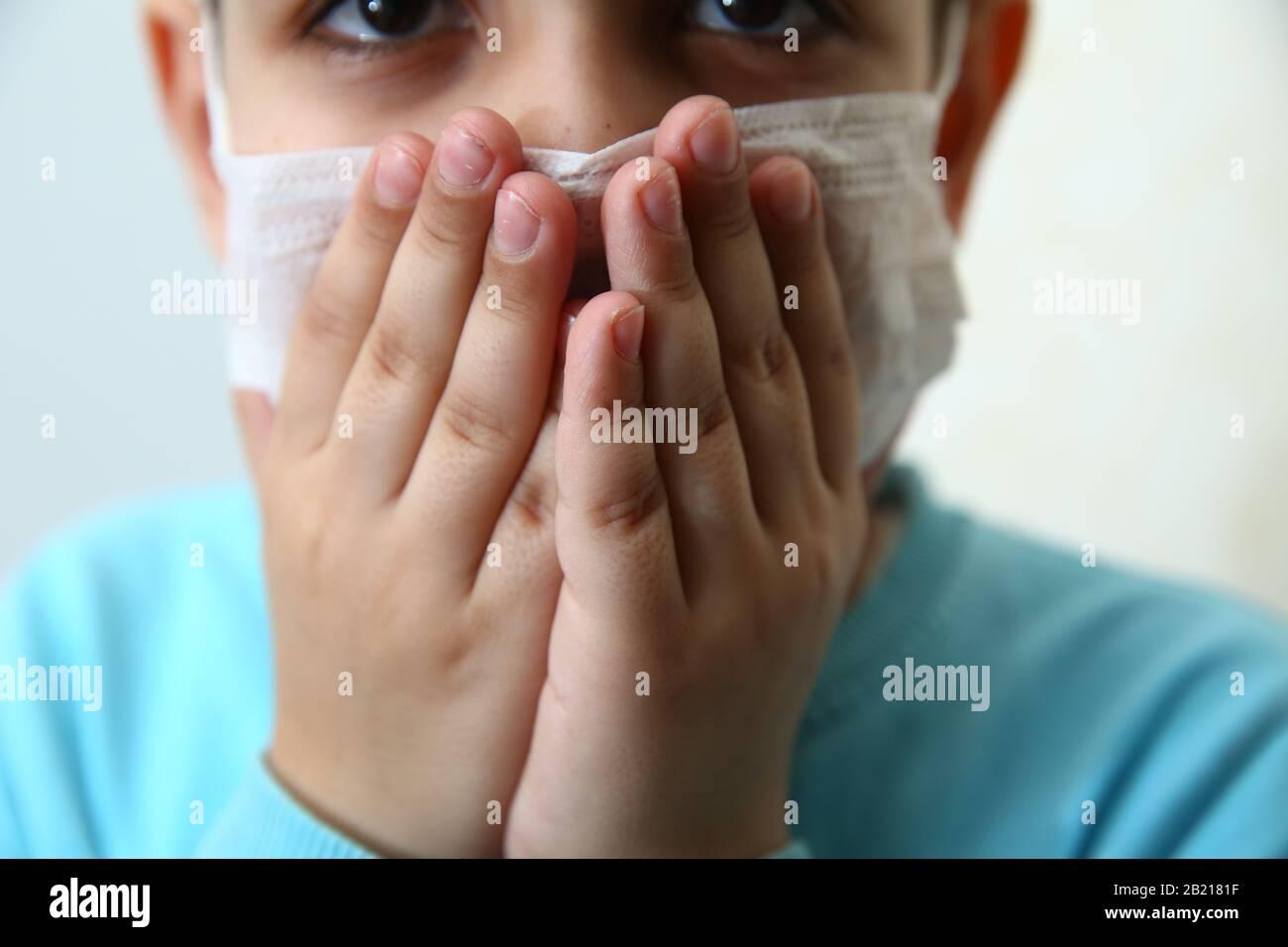 kids virus mask