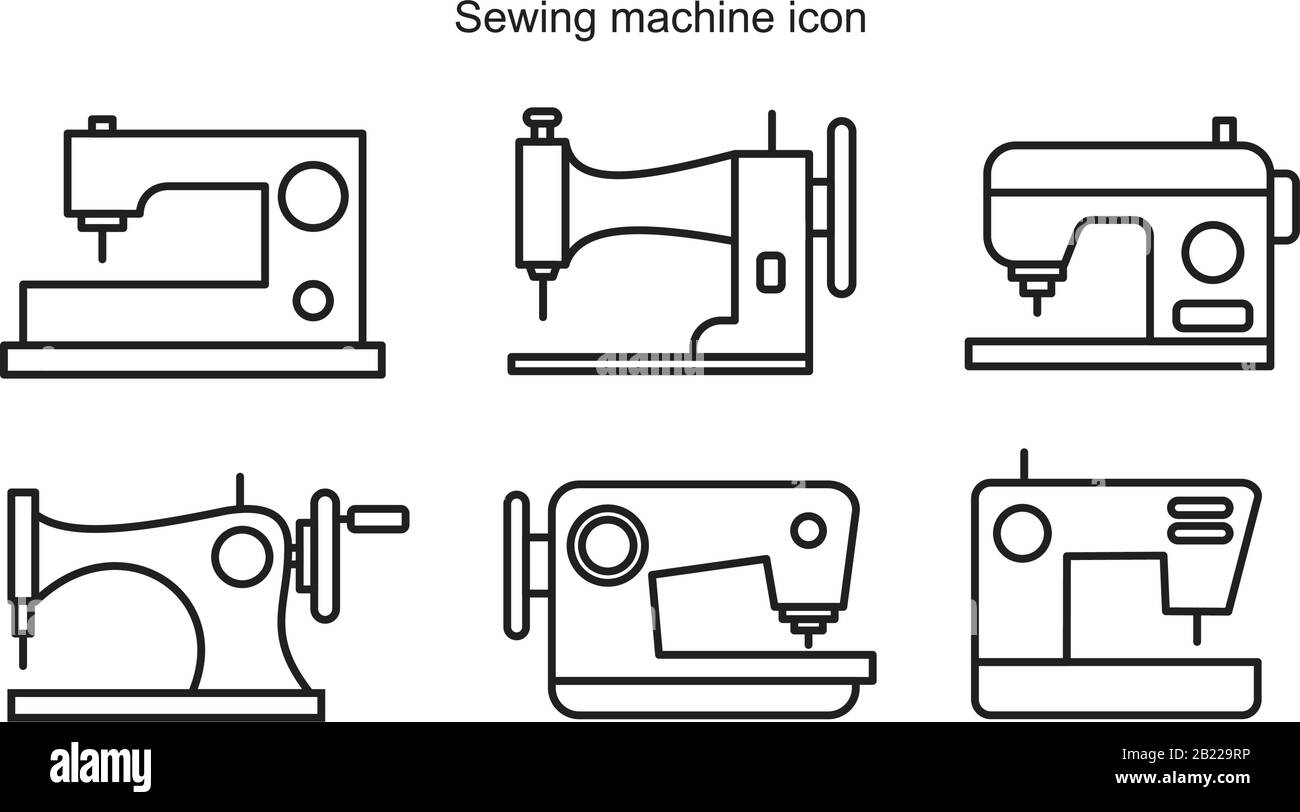 Sewing Machine Graphic