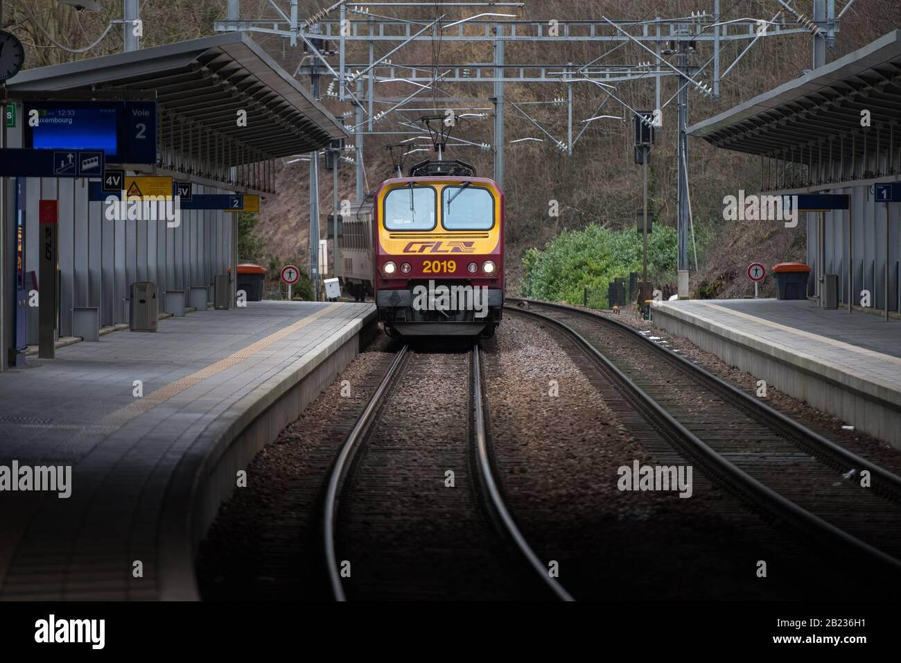 Kleinbettingen luxembourg train to paris florence emeneya abetting