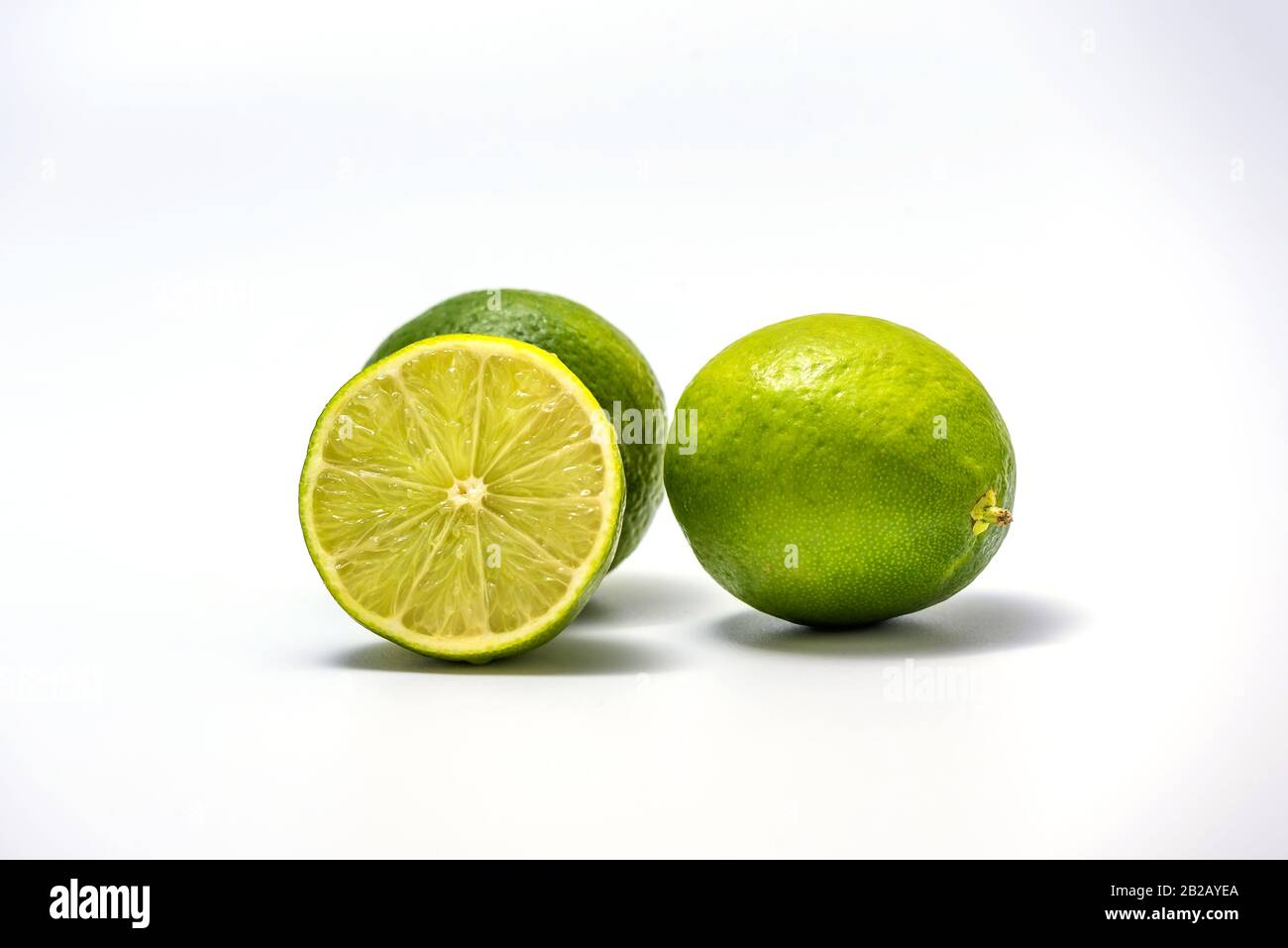 Lime Wedge Isolated High Resolution Stock Photography And Images Alamy