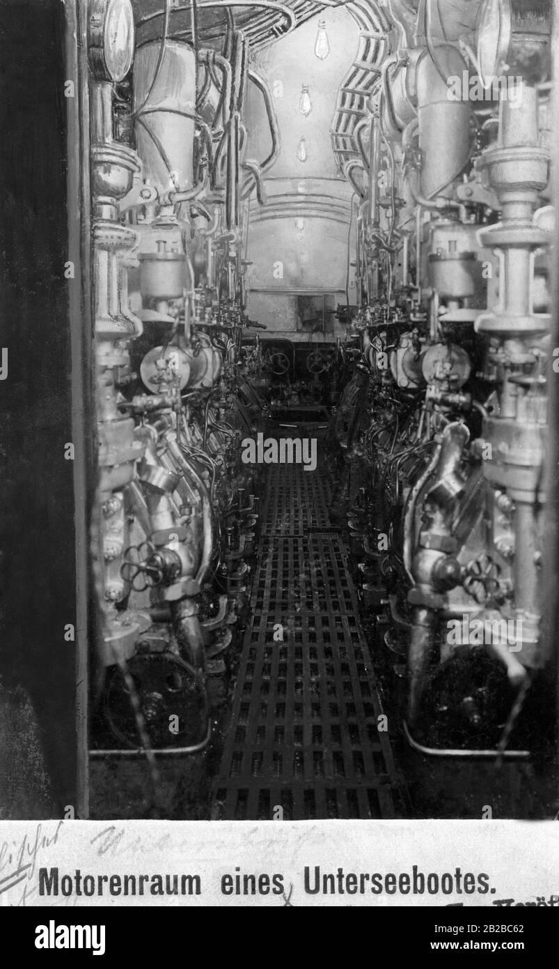 Battleship Engine Room: Ship Engine Room High Resolution Stock