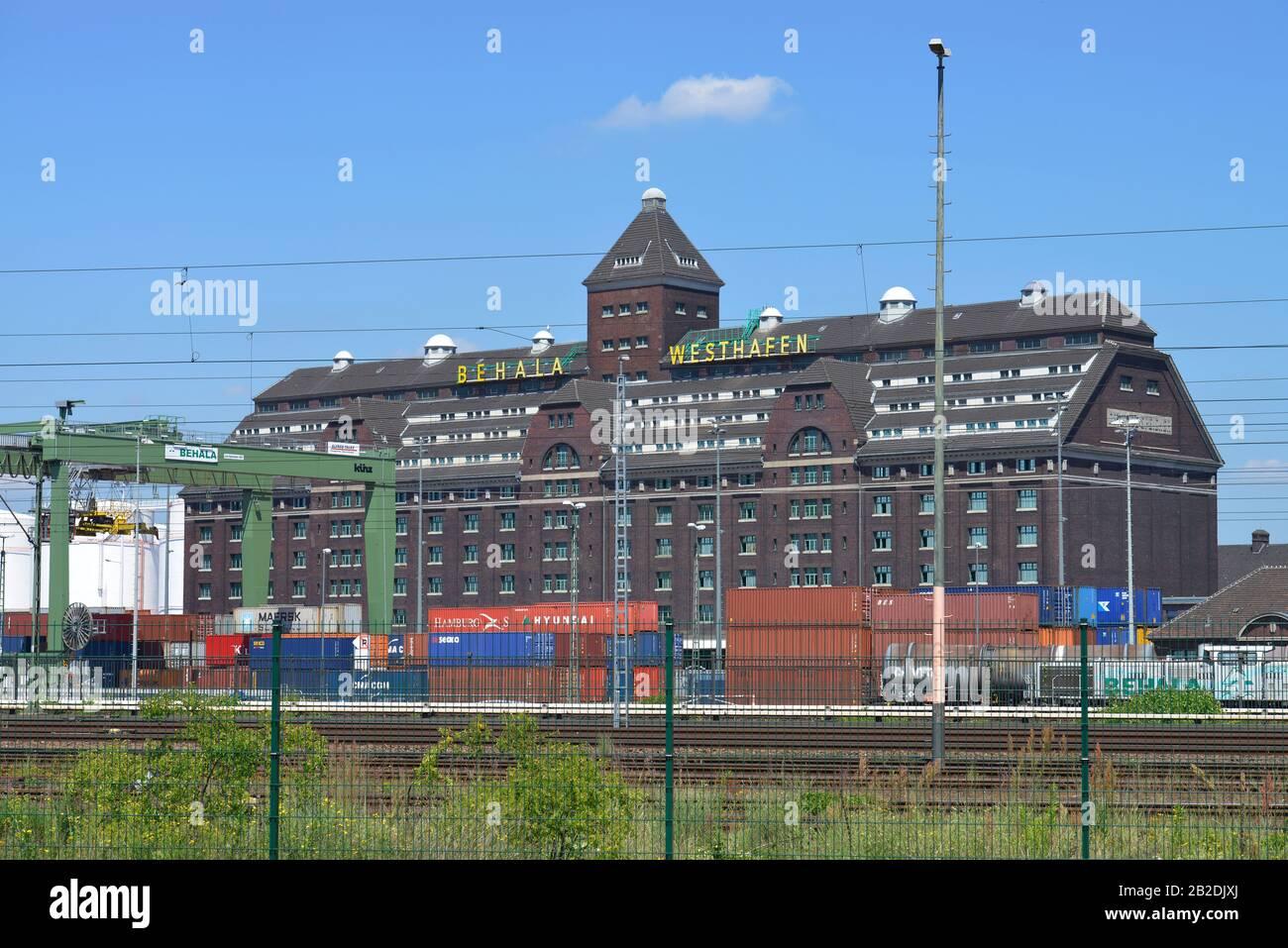 Lagerhaus, Behala, Westhafen, Moabit, Berlin, Deutschland Stock Photo