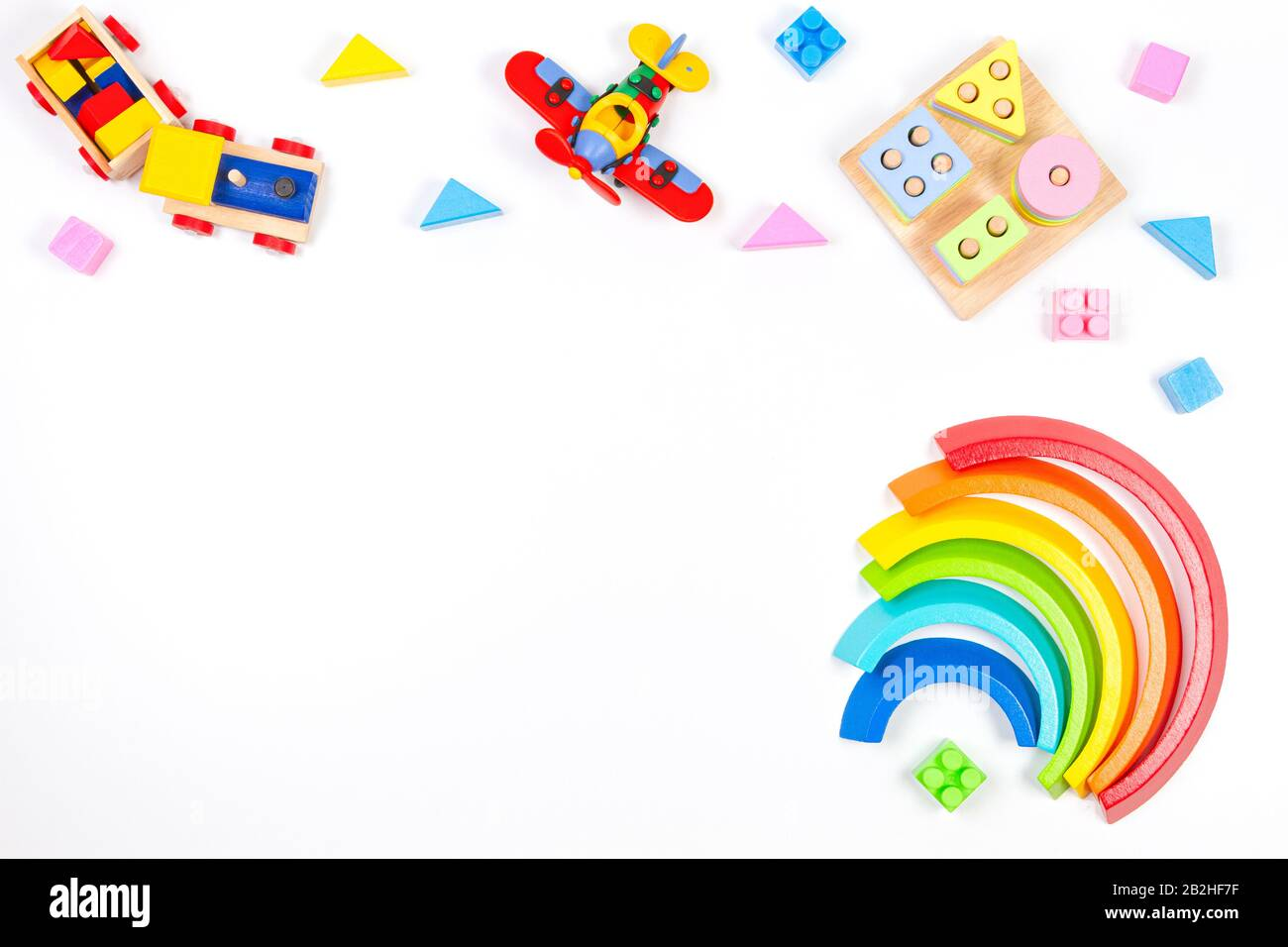 Paddington Bear Educational Stacking Blocks By Rainbow Designs