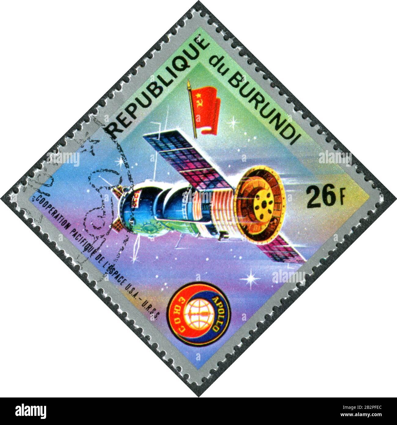 Apollo Soyuz Test Project Prime Crewmen NASA Print Russia Russian Stafford Print