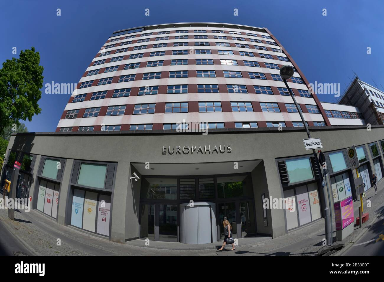 Europahaus, Stresemannstrasse, Kreuzberg, Berlin, Deutschland Stock Photo