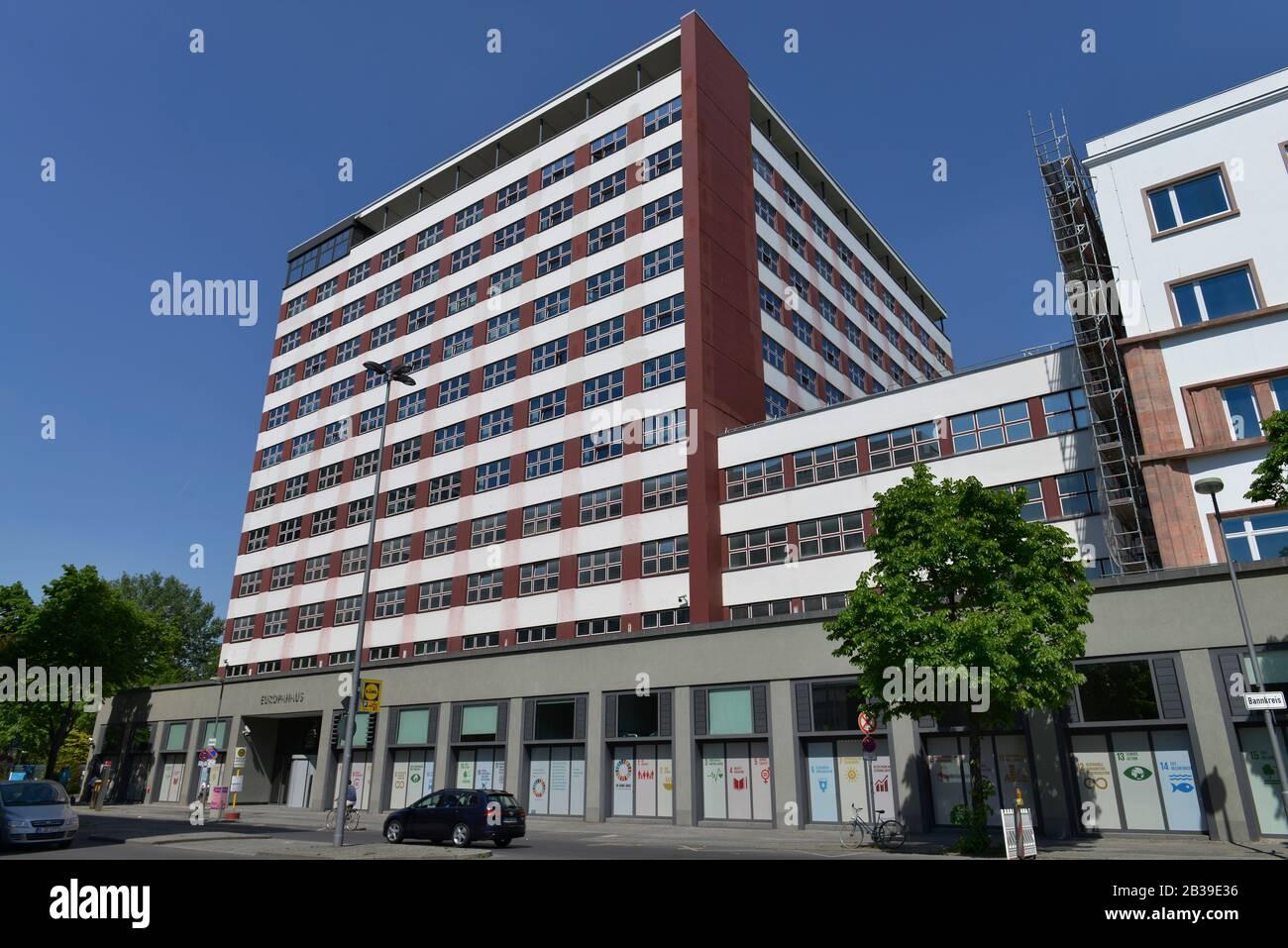 Europahaus, Stresemannstrasse, Kreuzberg, Berlin, Deutschland Stock Photo
