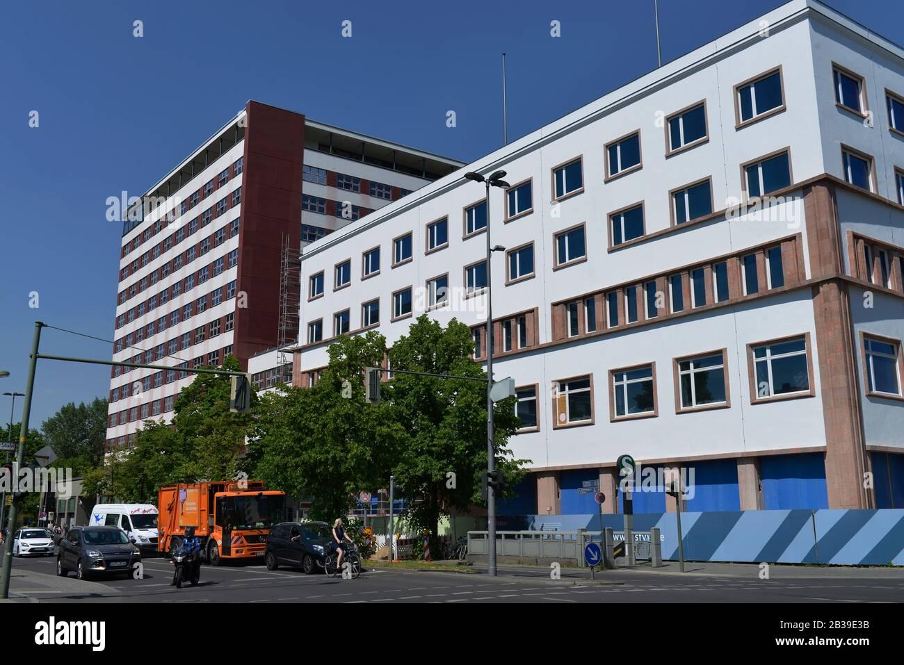 Deutschlandhaus, Europahaus, Stresemannstrasse, Kreuzberg, Berlin, Deutschland Stock Photo