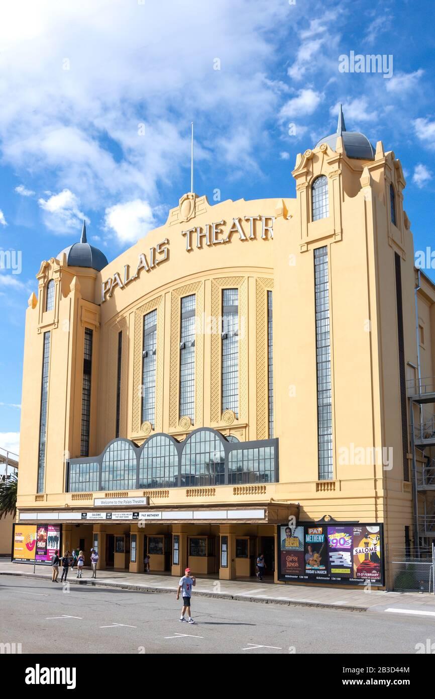 Art Deco Palais Theatre Lower Esplanade St Kilda Melbourne Victoria Australia Stock Photo Alamy