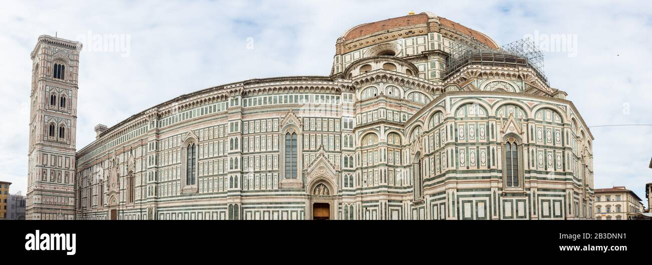 Cathedral of Santa Maria del Fiore florence Stock Photo