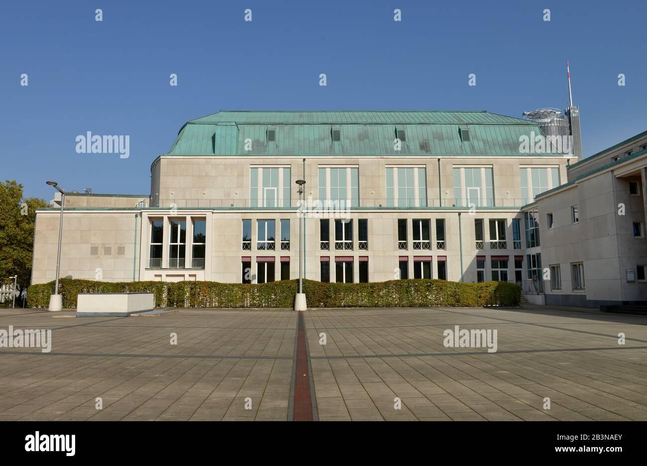 Philharmonie, Huyssenallee, Essen, Nordrhein-Westfalen, Deutschland Stock Photo